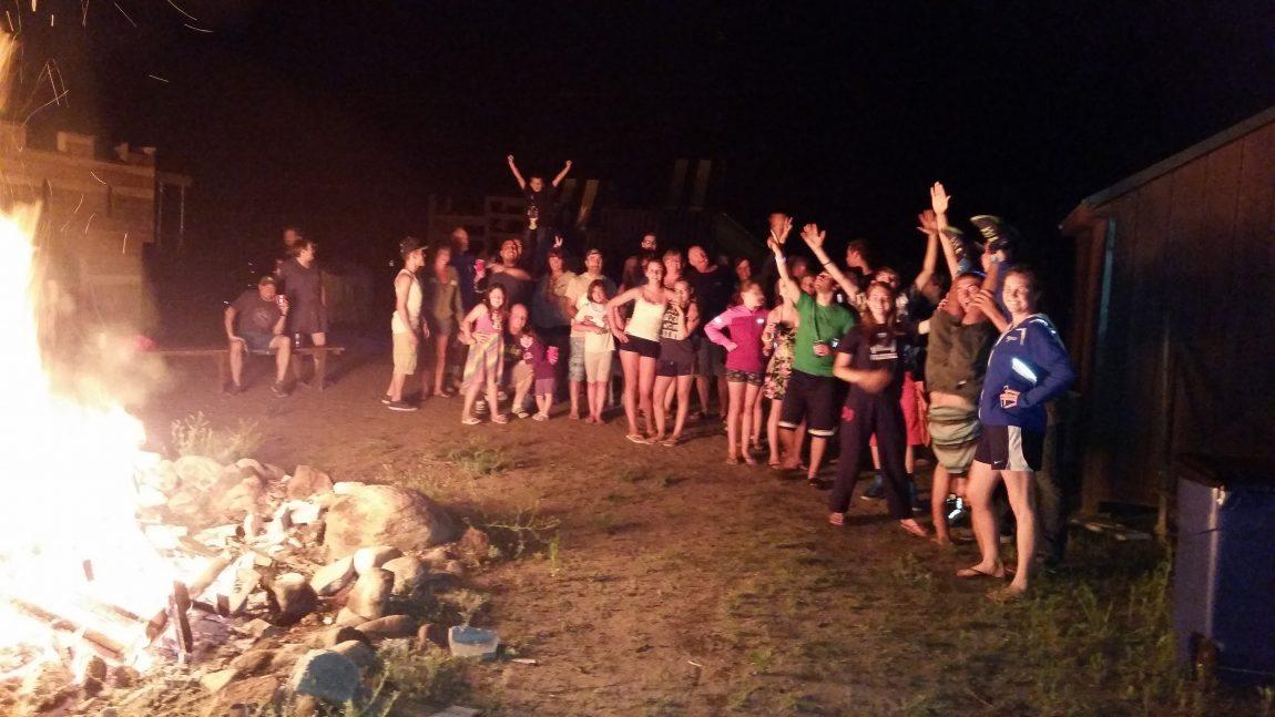 Bonfire Dancing Music DJ Campground Warrensburg